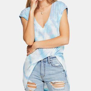 NWT Free People Breezy Point Longline Tee Small